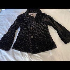 Patagonia girls pelagic black coat 12